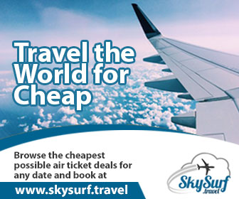 SkySurf.Travel - Explore the cheapest possible air ticket deals for any date